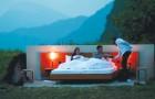 Würdest du bezahlen, um im Freien zu schlafen? Seht euch die Idee dieser schweizer Hotelkette an...
