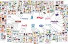 La dure vie des start-up : voici les 10 entreprises qui contrôlent TOUTE l'industrie de l'agroalimentaire.