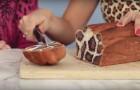 Veja como fazer o pão em modo a obter uma surpresa... felina!