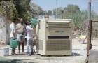 Deze machine kan meer dan drieduizend liter water per dag halen... uit de lucht