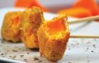 Gefrituurde pompoen: dit herfstige hapje is ideaal voor bij de borrel!