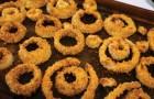 Crispy oven-baked onion rings!
