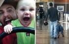 Quand le papa et les enfants sont tout seuls: voici les preuves hilarantes de ce qu'ils peuvent mijoter ensemble!