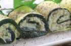 Arrollado de zuchini originales: los ingredientes que componen el relleno los sorprenderan!