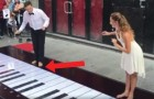 Piano Keyboard dancing is very entertaining!