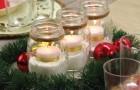 Centro de mesa con velas: como realizar una decoracion simple pero con efecto