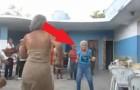Velhinha dança Salsa cubana