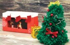 Descubra como criar uma pequena obra de arte de Natal!