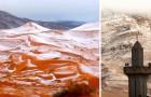 Het Sneeuwt In De Sahara, De Laatste Keer Was 37 Jaar Geleden: De Foto's Zijn Spectaculair