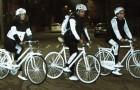 La Volvo ha producido una pintura salvavidas para todos los ciclistas que pedalean de noche