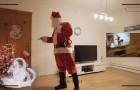 Ein Vater denkt sich einen genialen Plan aus, um die Existenz vom Weihnachtsmann zu beweisen
