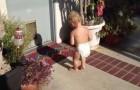 Les enfants découvrent pour la première fois leur ombre
