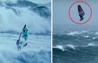 Windsurf en condiciones EXTREMAS: los participantes llegan a alturas impresionantes