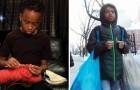 Deze jongen van 12 haakt honderden kledingstukken die hij weggeeft aan daklozen en ziekenhuizen