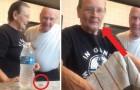 Deze oma is een grappenmaakster: de grap die ze met deze man uithaalt is PERFECT!