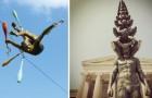 Sculture che sfidano le leggi della fisica: queste statue sembrano non risentire della forza di gravità