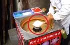 Cotton Candy in Chongqing in China