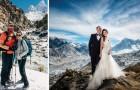 Trois semaines d'escalade pour se marier sur l'Everest: les photos de la romantique mission sont à couper le souffle