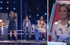 4 niños se preparan para cantar una cancion que conocen, pero asi no la escucharon jamas