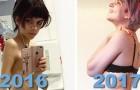 Vaincre l'anorexie: les photos de leurs nouvelles vies n'ont pas besoin de mots