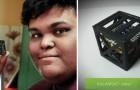 A 18 anni inventa il più piccolo satellite mai costruito: pesa 64 grammi e andrà in orbita a Giugno