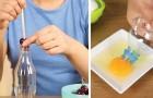 4 usos ingeniosos de las botellas EN LA COCINA. No tirarlos...reutilizarlos!