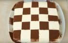 Schachbrettartiger Tiramisú: ein neuer Look für einen altbewährten Kuchen, hier das einfache Rezept!