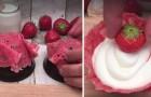 Mini aardbeientiramisumandjes: dit dessert is een genot voor het oog en tongstrelend!