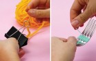 5 trucos para resolver los clasicos problemas de los trabajitos hechos con madejas, agujas e hilo