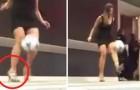 Tacos vertiginosos y pelota de futbol: lo que hace esta joven mata todos los estereotipos!