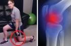 Apoya los libros en el piso y nos muestra 3 ejercicios para aliviar el dolor de rodillas