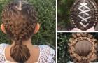 Diese Mutter macht ihrer Tochter, jeden Morgen vor der Schule, unglaubliche Frisuren