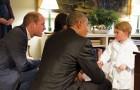 Pourquoi le prince William se met-il à genoux pour parler à son fils? Voici la réponse des éducateurs.