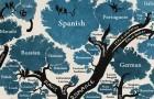 Dieser Baum, der die Verbindungen der Sprachen zeigt, wird deine Sicht auf die Welt ändern