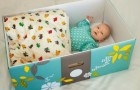 In Finlandia le mamme fanno dormire i neonati nelle scatole di cartone, e il motivo è molto importante