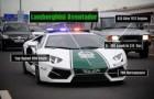 El super auto de la policia de Dubai