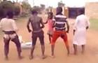 Superbe performance d'enfants ougandais