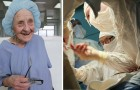 At 90, she still performs four operations per day! She is the oldest surgeon in the world!
