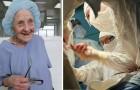 Op 90-jarige leeftijd doet ze nog 4 operaties per dag: ze is de oudste chirurg ter wereld