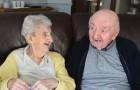 Eine 98 Jahre alte Frau ist in ein Altenheim gezogen um sich um ihren 80 jährigen Sohn zu kümmern