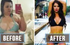 20 photos avant et après l'amincissement qui montrent combien une personne peut changer