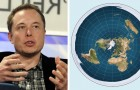 Elon Musk stellt denen die glauben, die Erde sei eine Scheibe eine einfache Frage. Ihre Antwort erschüttert das Web