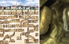 La ville souterraine qui pouvait accueillir 20 mille personnes était dotée d'un système de ventilation exceptionnel