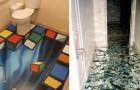 Lorsque vous verrez ces planchers originaux , vous songerez à refaire votre propre plancher.