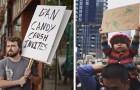 Hier einige der lustigsten und einfallsreichsten Schilder, die man jemals auf einer Demo gesehen hat