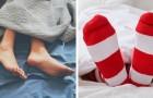 Você dorme de pés descalços ou de meia? A resposta revela algo sobre você