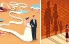 19 illustrazioni dal sapore dolce-amaro per comprendere meglio la realtà in cui viviamo