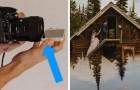 Mette il cellulare davanti l'obiettivo: ecco a voi una tecnica semplicissima per ottenere foto da favola