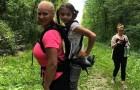 Uma menina com deficiência física não pode ir no passeio da escola: mas a professora te uma ideia comovente