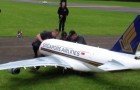 L'Airbus A-380 ... télécommandé